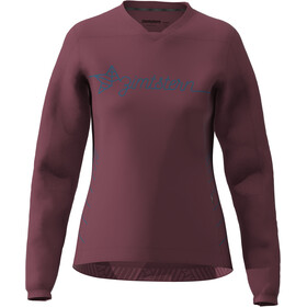 Zimtstern EcoFlowz Langarmshirt Damen rot